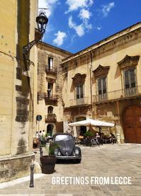 Greetings from Lecce! - My little Lecce