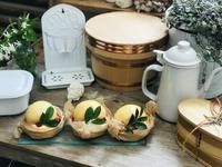 まあるい桃のタルト… - 田園菓子のおくりもの工房 里桜庵