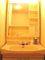マンション時代の洗面所 - 昭和の家とお片付け