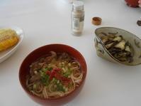 7月後半のお昼ご飯。 - のび丸亭の「奥様ごはんですよ」日本ワインと日々の料理