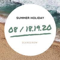 夏季休業のお知らせ - SCARECROW スタッフ日記
