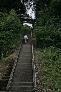 急勾配な階段の在る神社-2 - Mark.M.Watanabeの熊本撮影紀行