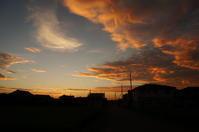 山の日の夕焼け - きょうから あしたへ その2