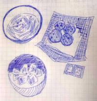 お酒が進む肴 - たなかきょおこ-旅する絵描きの絵日記/Kyoko Tanaka Illustrated Diary
