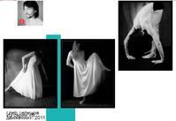 """人気フォトアーティストが撮ったダンサーの身体性と奇妙な花崗岩の類似(ウラジオストクの写真家展その33) - ニッポンのインバウンド""""参与観察""""日誌"""