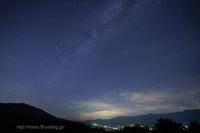 ペルセウス座流星群 - デジタルで見ていた風景