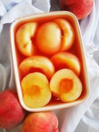桃のコンポート♪ - This is delicious !!