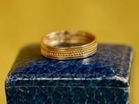 ✨約1500年間の思い出✨中世6世紀ー7世紀アングロ・サクソンゴールドリング - 欧州アンティーク・ジュエリー