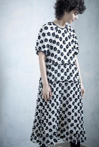 leur logette(ルールロジェット)のアートフラワー刺繍ドレス - jasminjasminのストックルーム