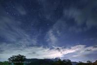 ペルセウス座流星群 Ⅱ - デジタルで見ていた風景