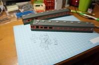 【鉄道模型・HO】クハ86 3枚窓を作る・7 - kazuの日々のエキサイトな企み!