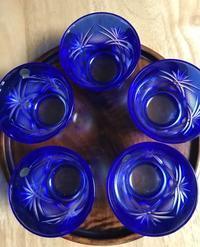 クリスタルのグラスとガラス諸々 - 青山ぱせり日記