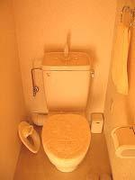 マンション時代のトイレ - 綺麗な部屋のママでいたい