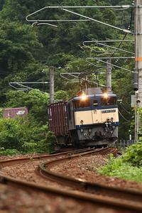 2020年8月伯備線阿哲峡 - ローカル無人駅