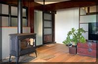 完成した薪ストーブ - 喜多方市に移り住んで