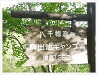 駒出池キャンプ場('ω') - ほっこりほっこりしましょ。。