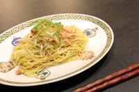 ネギチャーシュー和え麺 - おいしい便り