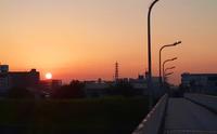 夜明けの想い - 浜本隆司ブログ オーロラ・ドライブ