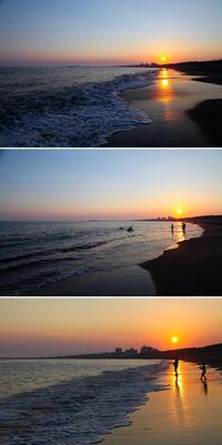 2020/08/15(SAT) 夕方の海辺に久しぶり行って見た。 - SURF RESEARCH