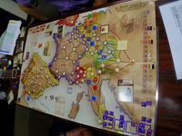 2020.0711(土)(CompassGames)No Peace Without Spain ノー・ピース・ウィズアウト・スペイン スペイン継承戦争のカードドリブン - YSGA 例会報告