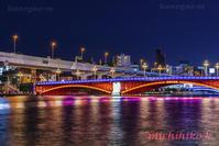 吾妻橋ライトアップ浅草 - 風景写真家鐘ヶ江道彦のフォトブログ2