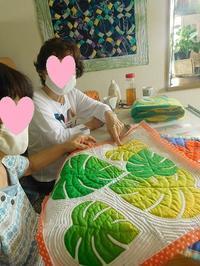 ハワイアンキルトづくし - eri-quilt日記3
