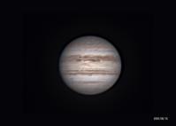 8月15日の木星と土星 - お手軽天体写真