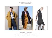 2020 Autumn Winter Pre Order - KAMIHSHIMA CHINAMI AOYAMA