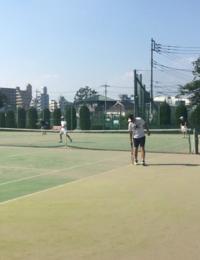 200815成蹊テニス部OB会 - Ken'ichi Otani Architects