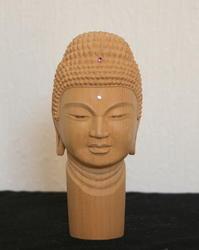 釈迦仏頭 - ホオジロの道楽部屋