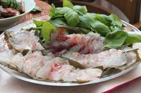 鯛しゃぶ鍋 - 登志子のキッチン