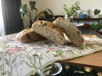 『広島菜のリュスティック』&『パン・オ・セーグル』 - カフェ気分なパン教室  *・゜゚・*ローズのマリ
