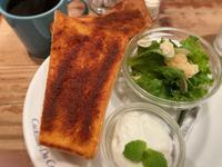 シナモントーストのモーニング - うつわ愛好家 ふみの のブログ