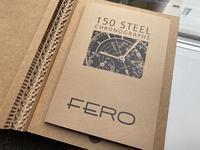 FERO 150 Steel Chronographs - 5W - www.fivew.jp