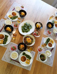 8月は「韓国ごはん」北國新聞文化センターお料理教室 - 登志子のキッチン