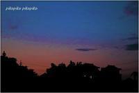 晩夏の夕空 - 今が一番