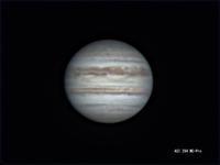 8月17日の木星、土星(その3) - お手軽天体写真