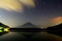 令和2年8月の富士(1)精進湖の富士 - 富士への散歩道 ~撮影記~