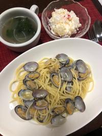 スパゲティボンゴレビアンコ - 庶民のショボい食卓
