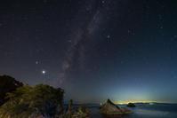 日本海の星空 - デジタルで見ていた風景