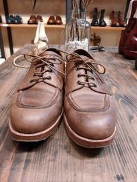 『カルミナ』をガシガシ履いてガシガシ育てる - Shoe Care & Shoe Order 「FANS.浅草本店」M.Mowbray Shop