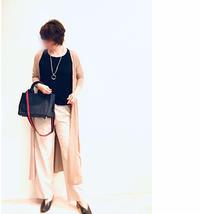 今!ありがたい、ひんやり羽織り & 風合い見事な岡山デニムのバッグ - 無理しない☆シンプル母コーデⅡ