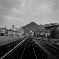 1993年10月北九州市門司区門司港 - digital camera monochrome Photograhy