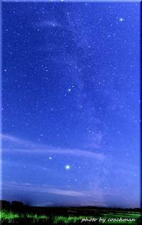 車で10分で行ける天の川 - 北海道photo一撮り旅