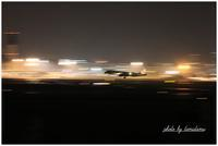 飛行機夜景Ⅱ - 今日のいちまい