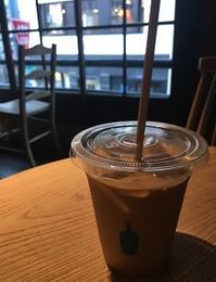 六角のブルーボトルコーヒーで一息☆彡 - Kyoto Corgi Cafe