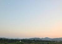 月と、、、 - マリカの野草画帖