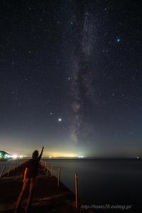 星に願いを・・ - デジタルで見ていた風景