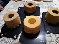 4種のシフォンケーキレッスン - 美味しい贈り物