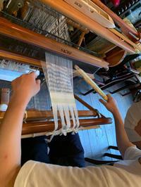 機織り体験教室 - カンパーニュママの一眼レフ生活とポメプーころすけと日々の出来事日記